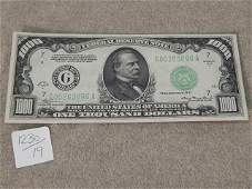 $1000. BILL 1934 SERIES A
