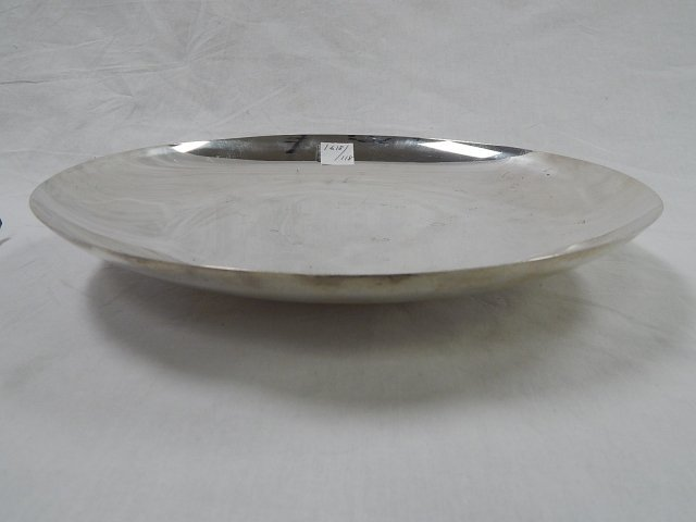 TIFFANY MODERN SHALLOW STERLING BOWL