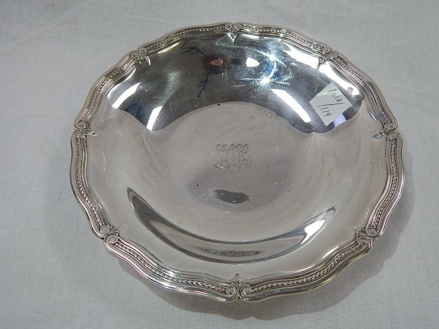 TIFFANY STERLING SHALLOW BOWL