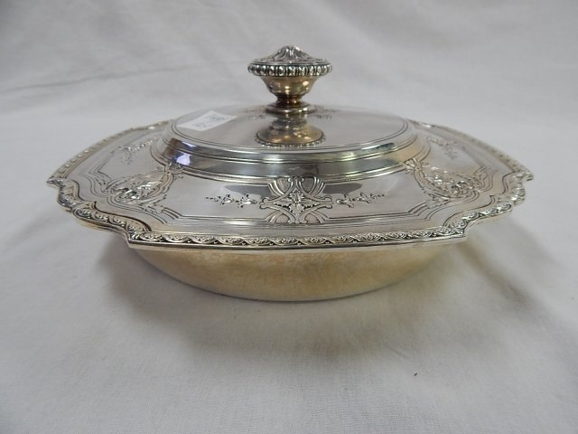 TIFFANY STERLING COVERED DISH