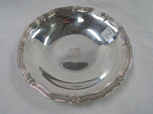TIFFANY STERLING 10 INCH PLATE