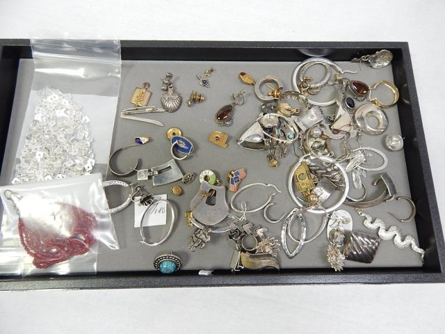 MISC JUNK STERLING SILVER LODGE PINS