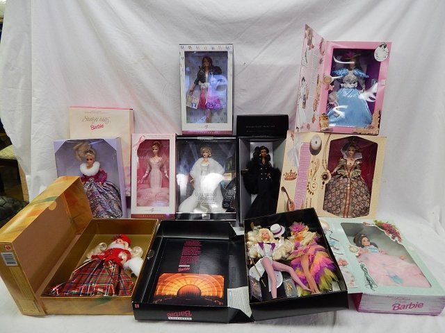 10 LIMITED EDITION BARBIES AND COLLECTORS DOLLS - 2