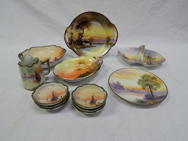 HAND PAINTED NIPPON DISHES