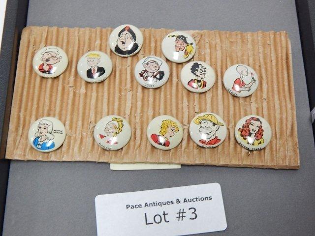 13 KELLOGE'S PEP PINS