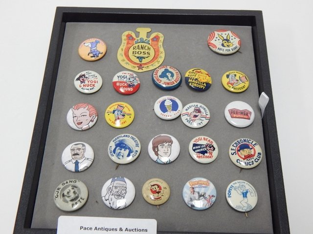 COLLECTION OF 23 PINS