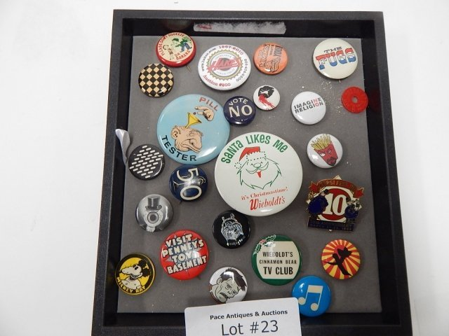 COLLECTION OF ADVERTISING PINS
