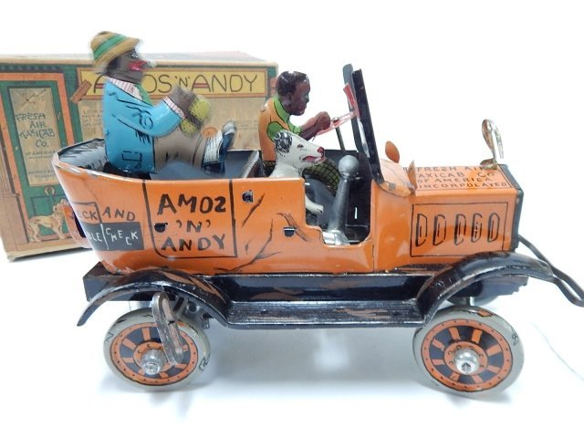 AMOS AND ANDY FRESH AIR TAXI CAB WITH BOX