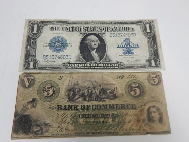 ONE LARGE SILVER DOLLAR