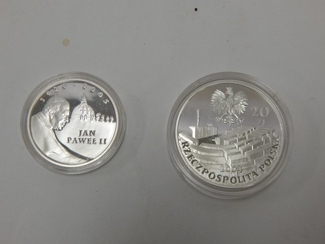 POLISH SILVER COINS