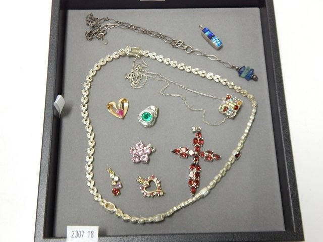 STERLING SILVER PENDANTS AND NECKLACES