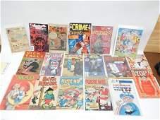 LOT OF 18 COMIC BOOKS