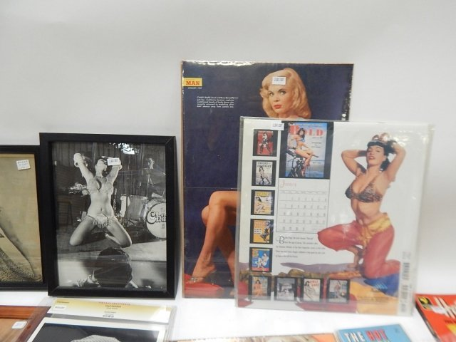 AUTOGRAPH OF  JEAN HARLOW & NUDE BOOKS - 4