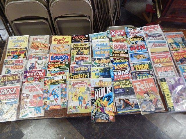 25-50 COMIC BOOKS