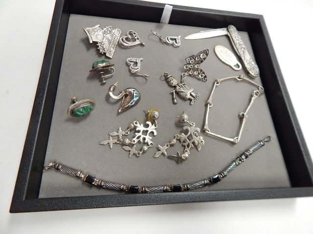 LOT OF STERLING JEWELRY
