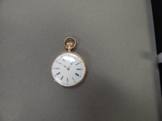 LADIES GOLD FILLED POCKET WATCH
