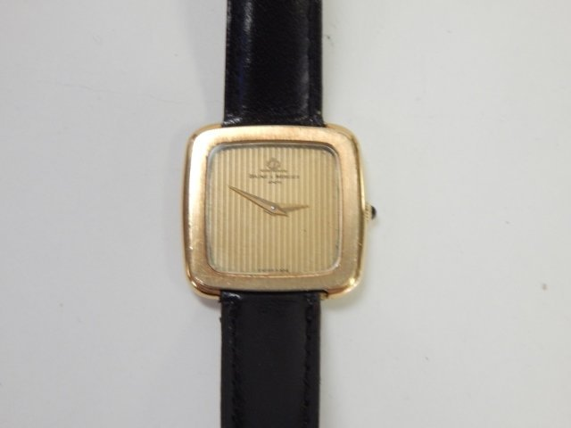 14K GOLD BAUME AND MERCIER WATCH