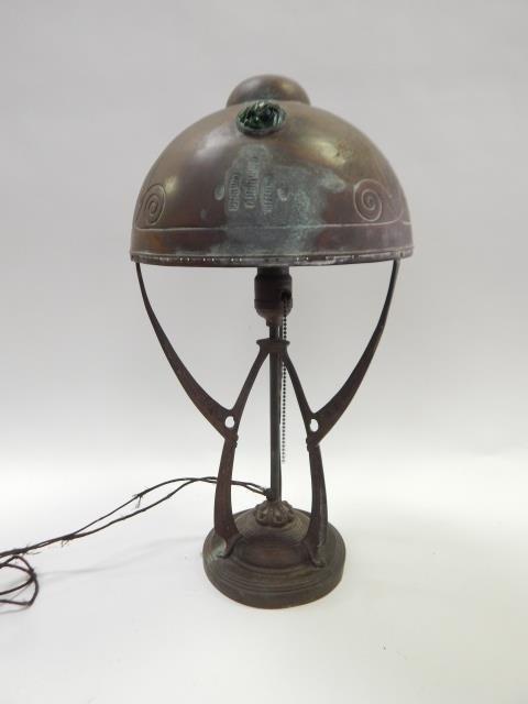 JUGENDSTIL ART NOUVEAU  LAMP