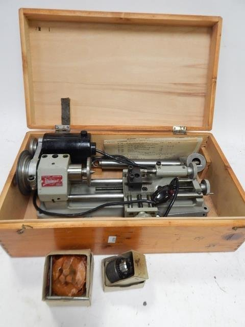 EDELSTAAL LATHE AND ATTACHMENTS - 2