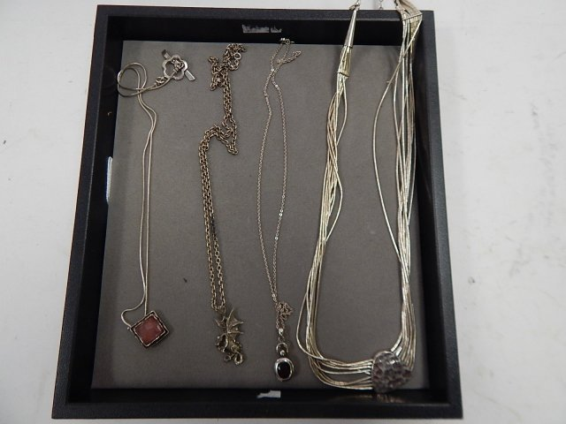 4 STERLING CHAINS