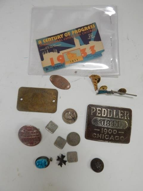 GROUP OF COLLECTIBLES