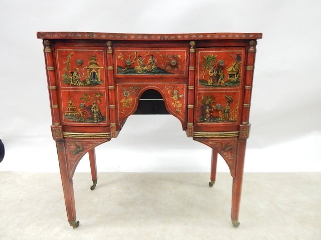 CHINESE HAND PAINTED COMMODE
