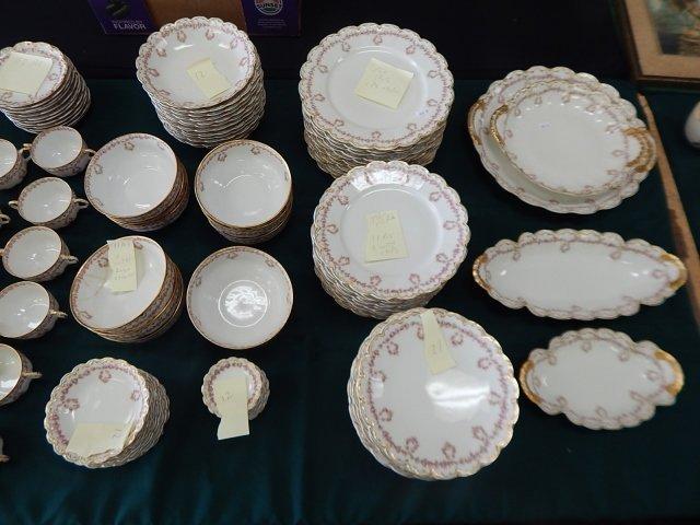 HAVILAND LIMOGES SET OF DISHES - 2