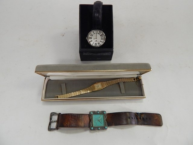 LOT OF 3 ESTATE WATCHES