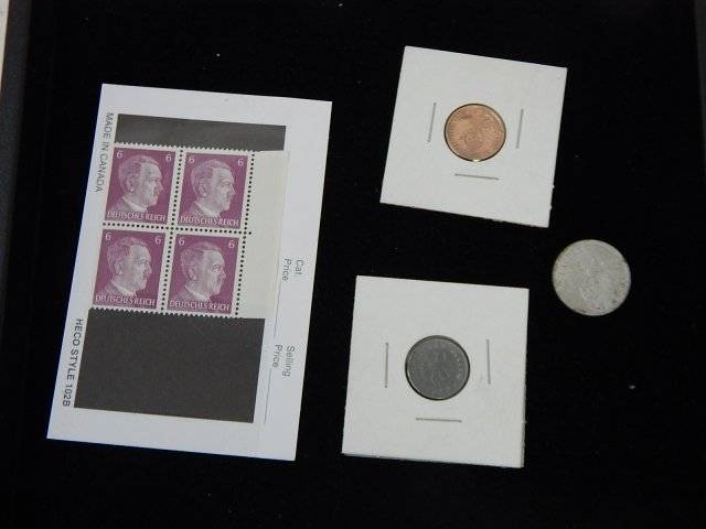 NAZI COINS AND STAMPS
