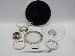 LOT OF STERLING SILVER ITEMS