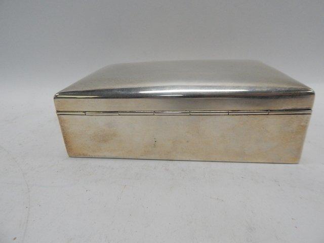 STERLING SILVER BOX - 4