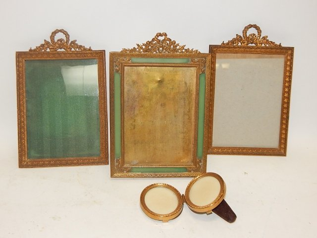 LOT OF FOUR PICTURE FRAMES
