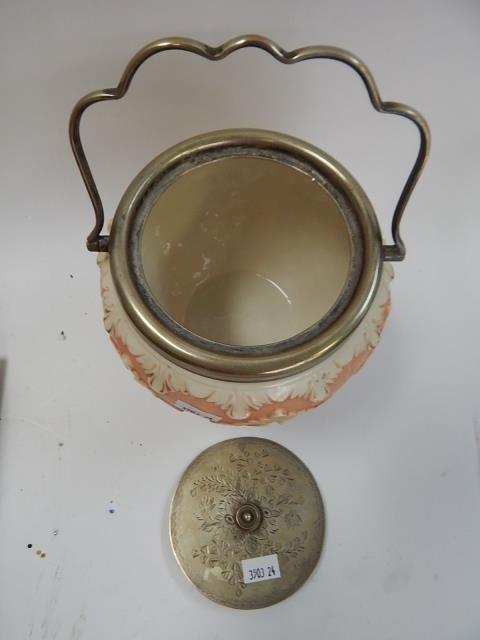 LOCKE & CO. WORCHESTER BISQUIT JAR - 2