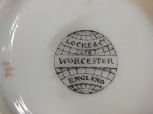 LOCKE & CO. WORCHESTER BISQUIT JAR - 5