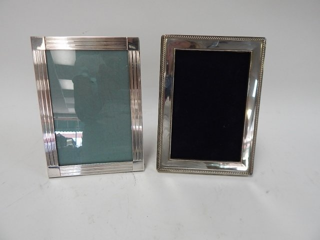 TWO STERLING PICTURE FRAMES