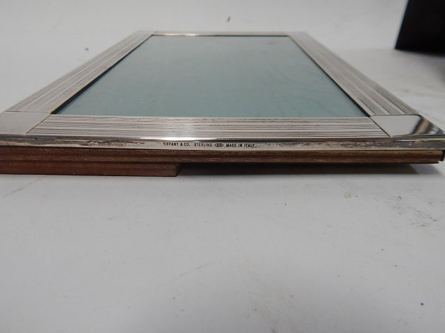 TWO STERLING PICTURE FRAMES - 2