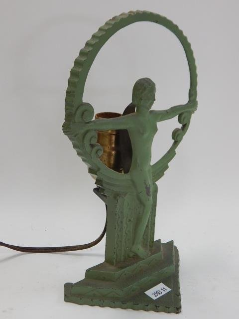 SMALL DECO LAMP WITH NUDE