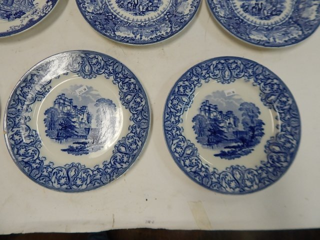 COLLECTION OF ROYAL COULDON ENGLAND PLATES - 4