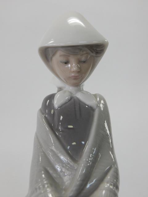 LLADRO, CERAMIC SELLER WOMAN - 5