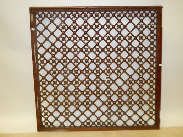STICK AND BALL OAK FRETWORK