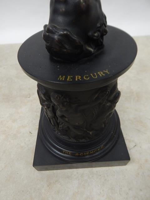 LARGE BRONZE MERCURY STATUE - 5