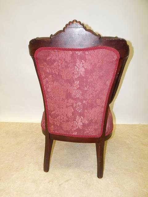VICTORIAN PARLOR CHAIR - 4