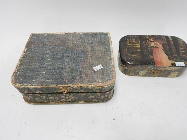 VICTORIAN CELLULOID DRESSER BOXES - 2
