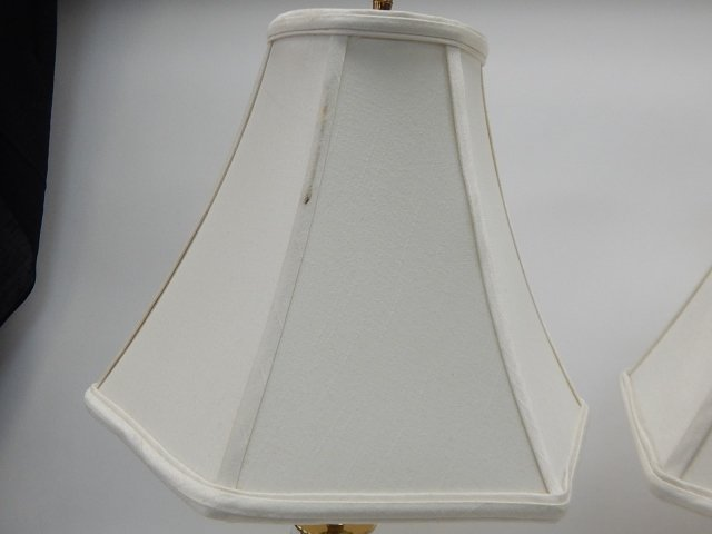 PAIR OF WATERFORD TABLE LAMPS - 4