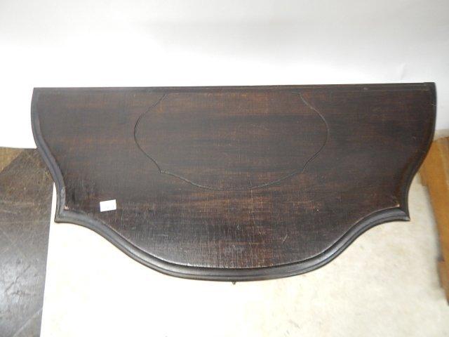 MAHOGANY CARVED TABLE - 5
