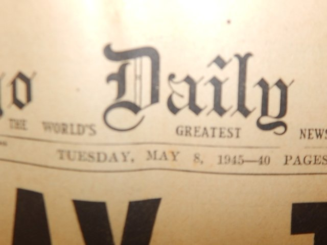 COLLECTION OF WWII NEWSPAPERS - 2
