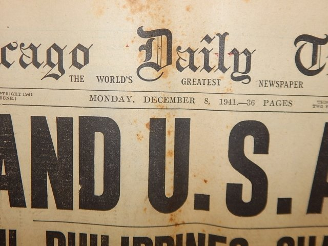 COLLECTION OF WWII NEWSPAPERS - 3