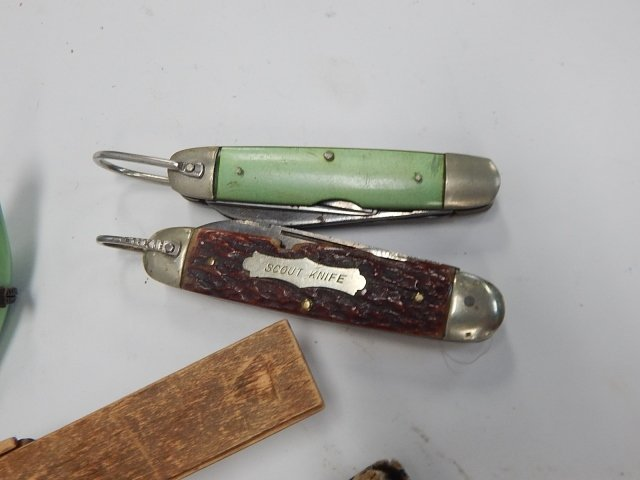 LOT OF KNIVES, TRINKET BOXES & MORE - 2