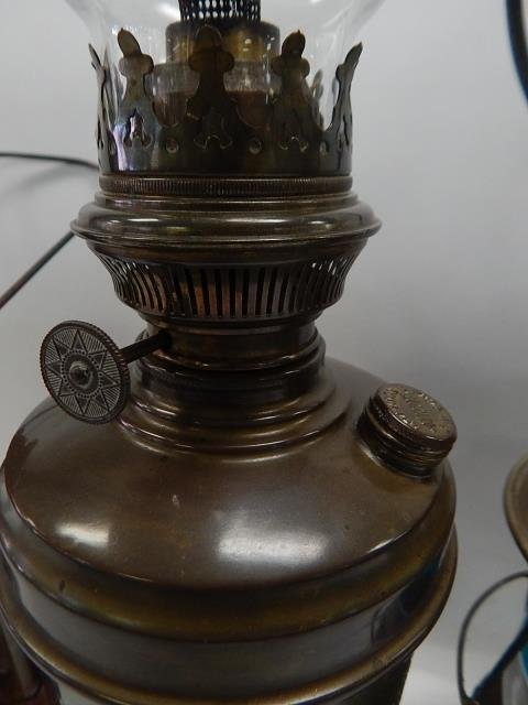 TWO LANTERNS AND OIL LAMP - 6