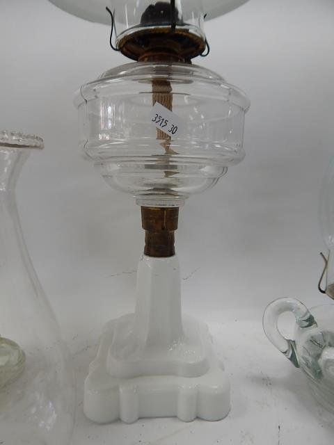 THREE OIL LAMPS - 4